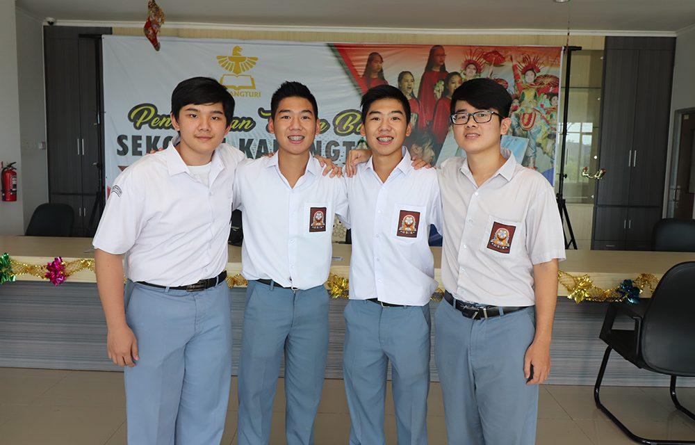 Empat Siswa Diterima di Taiwan