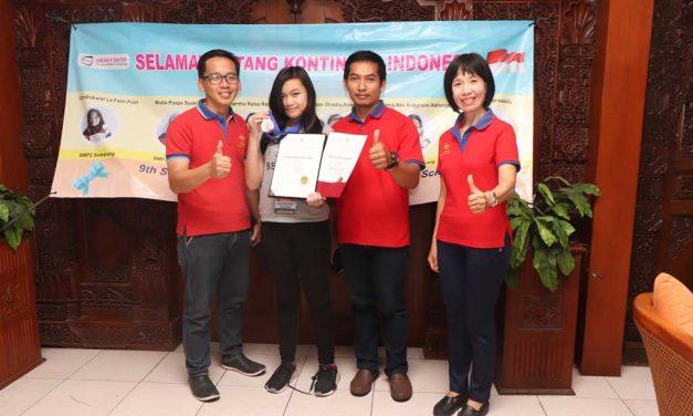 Siswi SMP Berprestasi di Tingkat Internasional