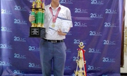 Juara I di 20th UNDIP's Mathematics Competition
