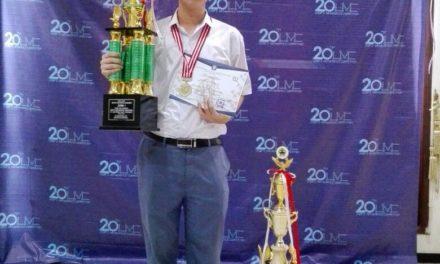 Juara I di 20th UNDIP's Mathematics Competition