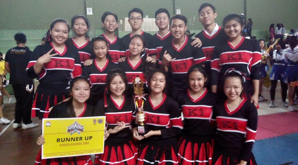 SMA Karangturi Juara II Cheerleader Tingkat Jawa Tengah