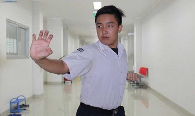 Siswa SMP Berprestasi di Cabang Wushu