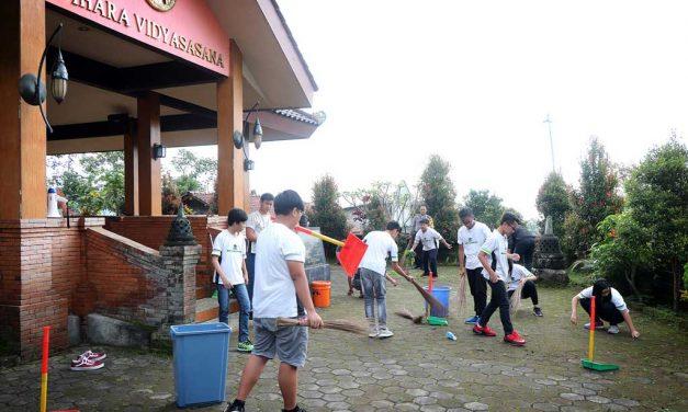 Aksi Sosial Siswa-siswi SMP Karangturi
