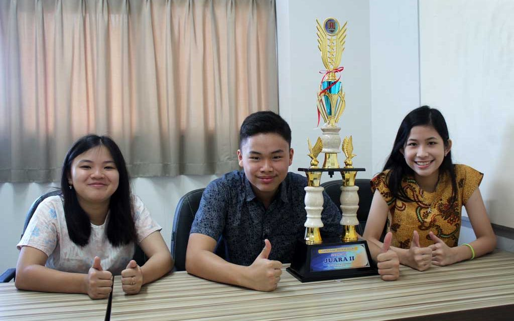 Won in the English Debate Contest 2019