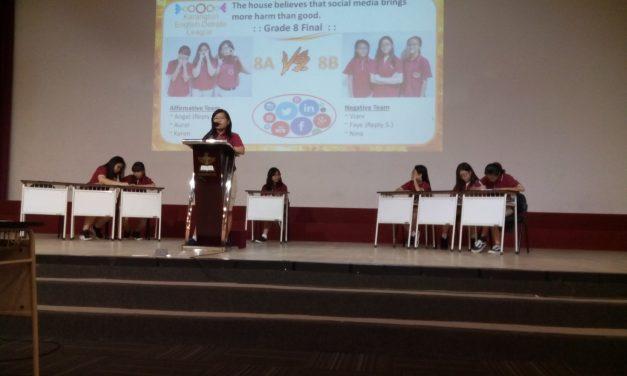 Perayaan Hari Bahasa di SMP Karangturi