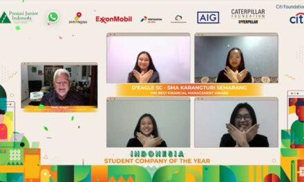 Raih Prestasi Tertinggi Tingkat Nasional Program Student Company Prestasi Junior Indonesia (PJI)